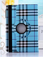 Scotland Grid Pattern PU Leather 360⁰ Cases/Smart Covers for iPad Air 2