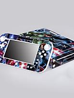 WiiのUは、保護ステッカーカバースキンコントローラースキンステッカーを慰める