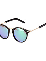 100% UV400 Fashion Personality Color Round Sunglasses