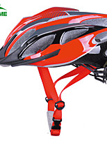 KUKOME Adjustable Sports Ladies 24 Vents Mountain Cycling Road Bike Helmet Red 54-62 cm