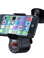 умный автомобильный держатель для Iphone и Ipad / Bluetooth автомобильный комплект громкой связи / FM-передатчик музыки в автомобиле /