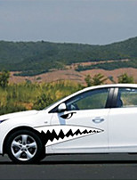 Car Stickers with Sharks Car Styling 2PCS