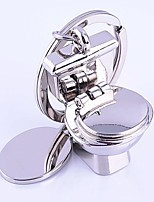 Wedding Keychain Favor [ Pack of 1Piece ] Non-personalised With Model Toilet