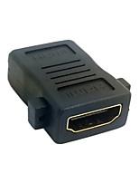HDMI fêmea para HDMI 1.4 fêmea adaptador conversor de extensão com montagem em painel buracos