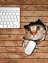 дизайн кошка декоративный коврик для мыши