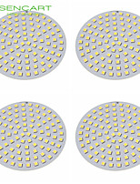 sencart 18w 96 x 5050smd led 1200-1400lm ha condotto le luci del soffitto per LED Accessori per LED da incasso DC12V 4pcs