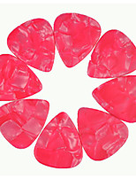 Heavy 1.5mm Guitar Picks Plectrums Celluloid Pearl Pink 50Pcs-Pack
