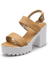 Women's Shoes  Stiletto Heel Gladiator Sandals Office & Career/Casual Black/Yellow/White