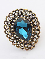 Vintage/Cute/Party Gold Plated/Alloy/Acrylic Multi Finger Ring