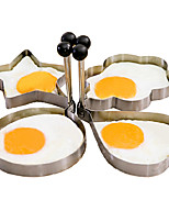 criativo modelo de ovo frito (1pcs) (cor aleatória)