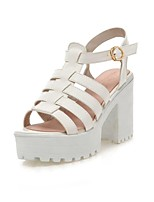 Women's Shoes Chunky Heel Peep Toe Sandals Dress More Colors Available