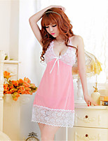Women's Organza Robes/Ultra Sexy Cut Out Translucence Backless Nightwear