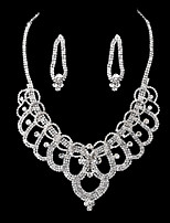 Women's Alloy / Rhinestone Jewelry Set Non Stone