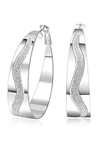 Women's Hoop Earrings JewelryBasic Unique Design Tattoo Style Geometric Circle Friendship Turkish Cute Style Euramerican Handmade