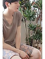 Men Cotton Blends Medium Pajama