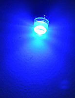 Lichtdekoration T10 1.5 W 90lm LM Blue K 1 High Power LED Blau/Kühles Weiß DC 12 V