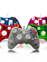 Wired Remote Control Game Controller Console for Microsoft Xbox 360 with LED Light
