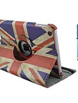 9,7 polegadas padrão de bandeira rotação de 360 graus com caso estande e caneta para ipad ar / ipad 5