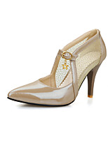 Women's Shoes  Kitten Heel Heels/Pointed Toe Pumps/Heels Office & Career/Dress Green/Pink/White/Beige