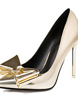Women's Shoes Stiletto Heel Pointed Toe / Closed Toe Heels Office & Career / Dress / Casual Silver / Gold