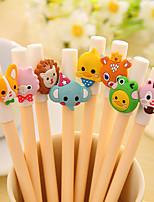 Cute/Multifunction Plastic Gel Pens(Random Color)