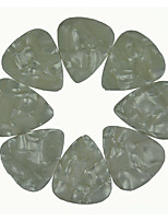 Heavy 1.5mm Guitar Picks Plectrums Celluloid Pearl White 50Pcs-Pack