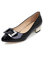 Women's Shoes Faux  Low Heel Pointed Toe/Closed Toe Loafers