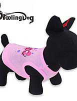 Camiseta - Todas as Estações - Rosa Algodão - para Cães / Gatos - XS / S / M / L