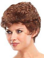 Short Hair Wigs White Women European Synthetic Black Women Wigs Natural Short Wigs