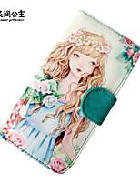 Flower Princess® Dames Canvas Portefeuille Groen-1504S00101