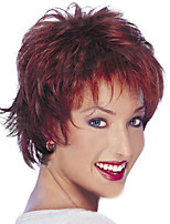Hair Wigs Short Length Synthetic Natural Woman's Medium Synthetic wigs