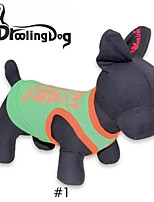 DroolingDog® Cool BIG Pattern 100% Cotton Vest for Pets Dogs (Assorted Colors Assorted Sizes)