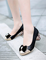 Women's Shoes Chunky Heel Round Toe Pumps Dress Shoes More Colors Available