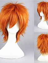 14inch Short Orange Zootopia Nick Foxy Synthetic Anime Cosplay Wig CS-278C