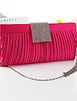 Women PU / Metal Minaudiere Shoulder Bag / Tote / Evening Bag / Wristlet - Multi-color