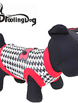 DroolingDog® Cool Houndstooth Pattern Cotton Vest for Dogs (Assorted  Sizes)