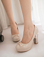 Women'Shoes  CircleToe with Rough Heel and Thin Shoes More Color