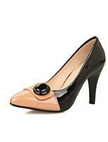 Women's Shoes Cone Heel Comfort / Pointed Toe Heels Office & Career / Dress / Casual Black / Blue / Pink / Beige
