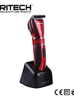 marca pritech profissional elétrico recarregável aparador de pêlos facilmente ajustável máquina de corte de cabelo máquina de cortar