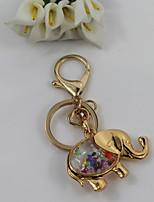 Fashion Unisex Alloy/Crystal Animal Pendant Keychains