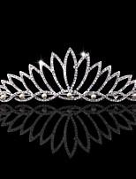 Femme / Jeune bouquetière Strass / Alliage Casque-Mariage / Occasion spéciale Tiare 1 Pièce