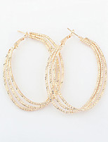 Vintage/Cute/Party Gold Plated/Alloy Drop Earrings