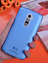 Для Кейс для LG Покрытие Кейс для Задняя крышка Кейс для Один цвет Твердый PC LG LG G9