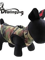 Camiseta - Inverno - Verde Terylene - para Cães / Gatos - XS / S / M / L / XL