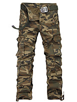 Summer men more pockets camouflage overalls loose han edition outdoor sports pants, casual pants