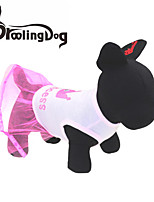 DroolingDog® Lovely Crown Pattern Vest Dress for Pets Dogs (Assorted Sizes)