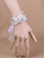 Wedding/Party Simple Elegant Rhinestone Flowers Wrist Corsages