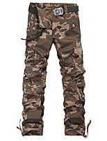 More than 2015 men's trousers pocket camouflage Easy leisure men's trousers Han edition men's trousers outdoor sports