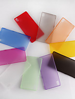 Ultrathin 0.3mm Colorful Scrub PP Case for Sony Xpeira Z3 (Assorted Color)