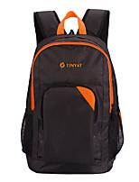 TINYAT Casual Simple Men Schoolback/Lightweight Protect Straps Lap Top Backpack T106 Orange